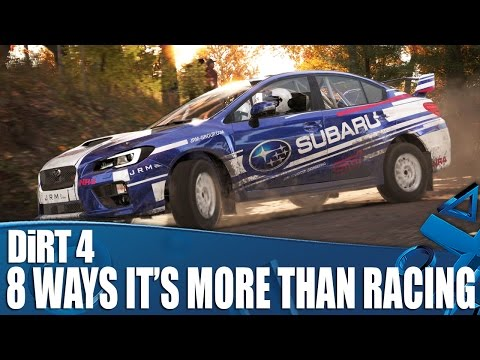 DiRT 4 - 8 things that prove its more than just racing