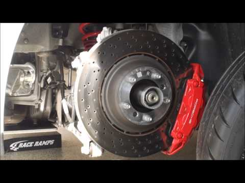 Porsche 911 991 GT3 Center Lock Wheel Removal and Replacement Procedure