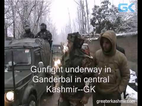 Gunfight underway in Ganderbal in central Kashmir