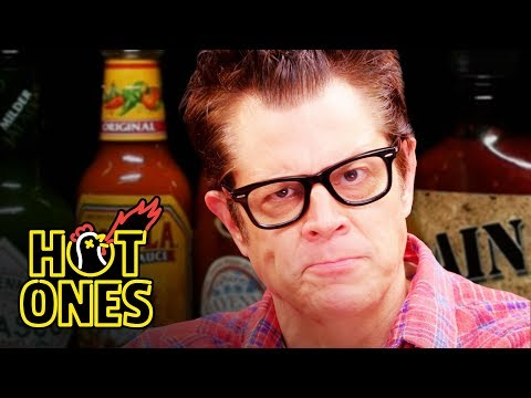 Johnny Knoxville Gets Smoked By Spicy Wings   Hot Ones