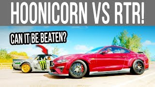 Forza Horizon 4 - Can a 1900HP RTR Mustang Beat a Hoonicorn? *New Challenge*