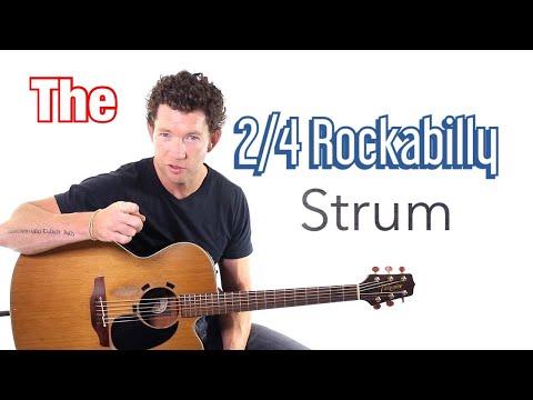 Beginner Strumming Pattern 5 – Rockabilly 2/4 Strum Lesson with Mark McKenzie