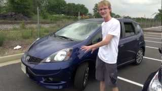 2012 Honda Fit Sport Vs 2012 Ford Fiesta SE - Comparison Test Review
