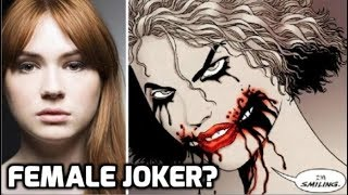Karen Gillan has stated that she'd enjoy playing The Joker. But just how would that work...? I have the answer! MORE: Watch ...