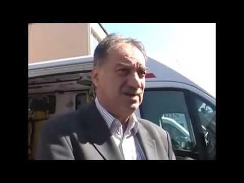 Predsednik Opštine Apatin Milan Škrbić o sanitetskom vozilu