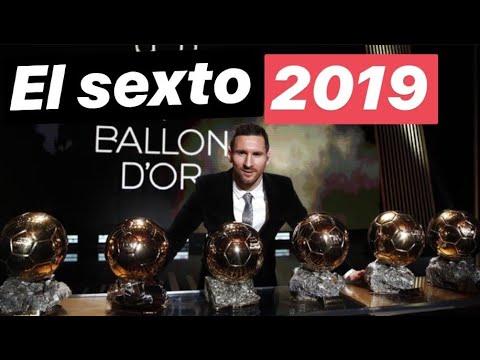 ¿Cuántos más, Messi? Balón de oro 2019. #MundoMaldini