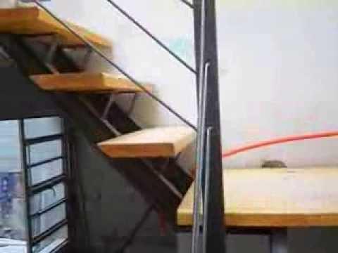 Hierro madera videos videos relacionados con hierro madera - Fabricar escalera de madera ...
