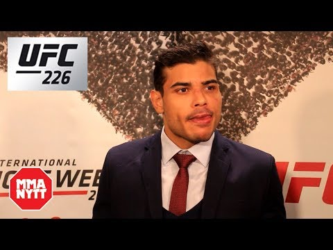Paulo Borrachinha Costa Post Fight UFC 226 Interview
