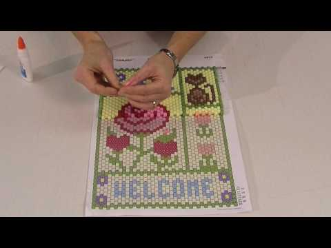 Beaded Banners - Mary Maxim How To Video