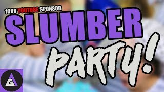 Tonight we're celebrating hitting 1000 YouTube Sponsors in the manliest way possible - with a slumber party. Come join us for video games, movies, girl talk ...
