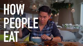 Video How People Eat MP3, 3GP, MP4, WEBM, AVI, FLV April 2018