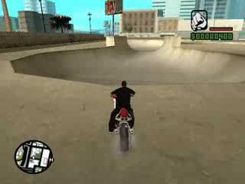 Re: Ultimate GTA:SA Skatepark Stunt.