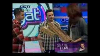 Shane Filan at DahSyat  RCTI - Indonesia