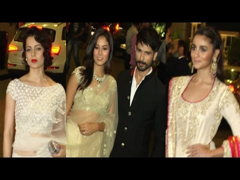 Shahid , Alia, Kangana & Others At Masaba Gupta Reception Ceremony