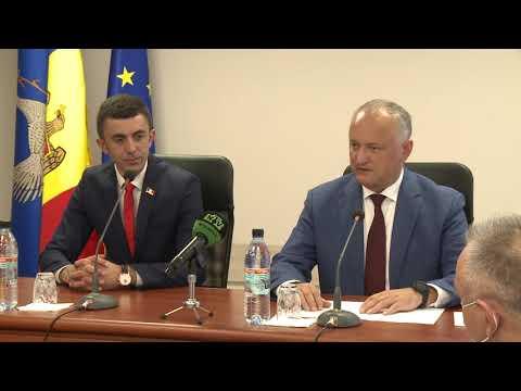 Şeful statului a discutat cu conducerea raionului Drochia