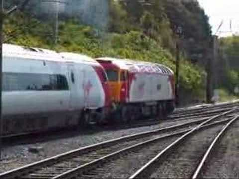 Virgin Pendolino Drag at Preston