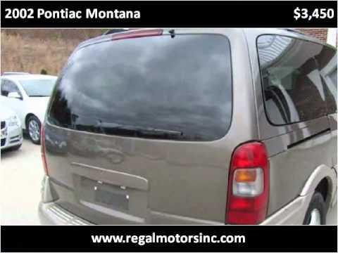 2002 Pontiac Montana Used Cars Stafford VA