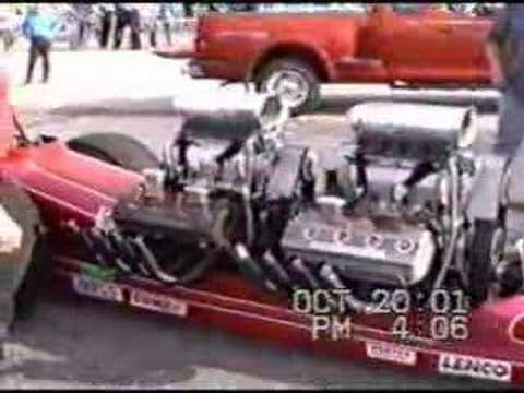 Motes & Williams Twin Engine Dragster