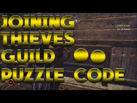 Partners in Crime Puzzle! (Elder Scrolls Online Thieves Guild)