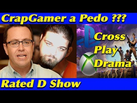 Rated D Show - CrapGamer Liking Children, Cross Play Drama, PSN Sales