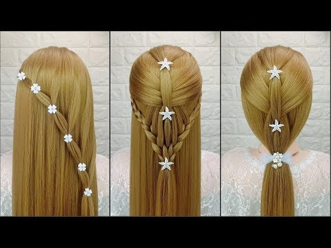 Hairstyles for short hair - 25 Amazing Hairstyles   Easy Beautiful Hairstyles Tutorials  Best Hairstyles for Girls