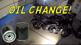 6. How To Change Oil on a Triumph Speed Triple (NSFW)