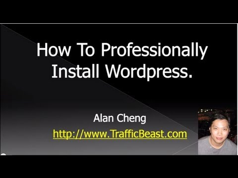 How To Install WordPress Manually – Step by Step Professional WordPress Installation