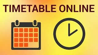 """A timetable is a basic time management tool consisting of a list of times in which possible tasks, events, or actions are intended to take place. Although it's immensely useful, for example, for school, a timetable is usually created in a simple word processor or spreadsheet. However there's a web application  that is stored in the Cloud called """"Timetable Web"""" that allows any user to create a timetable in a very simple way.Don't forget to check out our site http://howtech.tv/ for more free how-to videos!http://youtube.com/ithowtovids - our feedhttp://www.facebook.com/howtechtv - join us on facebookhttps://plus.google.com/103440382717658277879 - our group in Google+Step # 1 - Visit Timetableweb.comFirst of all, open your browser and go to: """"www.timetableweb.com""""Step # 2 - Create your accountYou will need to create a new account to use this app. To do this go to the right side of the web page and click on the """"Sign up"""" button. Next, you will have to complete a basic form that asks for your name, email and different functions.  Once you're done click """"Send"""".To activate your account, go to your email address, open the mail from """"Timetableweb"""" (you'll find your username and password)  and click on the activation link. After this, you'll be able to log in to your account. Step # 3 - Navigate through your DashboardAfter creating an account, you'll be presented with your main dashboard. To the left side you'll find a bar that allows you to navigate to the different editing sections, so you can complete them in the best way for you. Step # 4 - Create the classesFor example, if you click on the """"Classes"""" button  you can add classes and name them and add the number of weekly periods. You can keep adding classes or split them.  Step # 5 - Add information about the teachersYou can also enter information about the teachers of your institution, by clicking on the """"Teachers"""" button and entering their last name and first name. You can also add a subject, the number of weekly periods"""