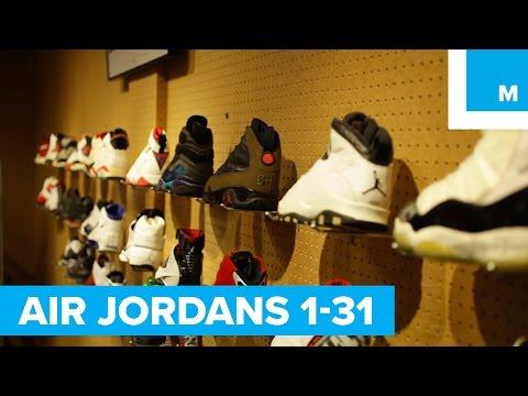 The Evolution of the Air Jordan, 1-31
