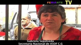 Gabriela Sepúlveda Secretaria Nacional y Vida Sana. Feriante TV