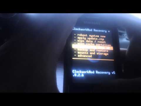 Android 4.1.1 en Samsung Galaxy y (young) tutorial