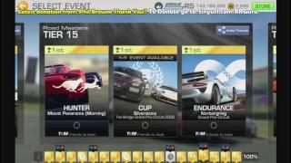 Playing Real Racing 3 both gameplay and customization/
