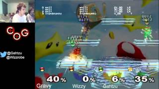 Gravy explains how to techchase optimally with Captain Falcon
