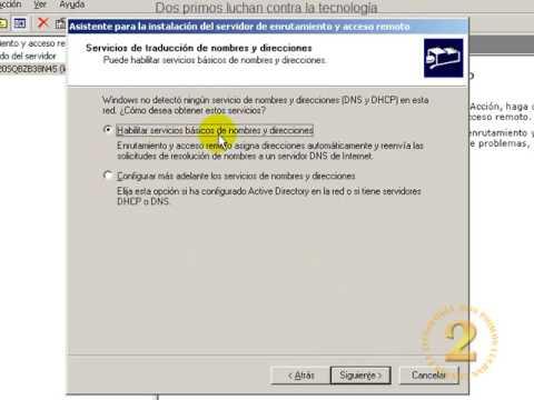 Abrir o redirigir puertos en Windows Server 2003