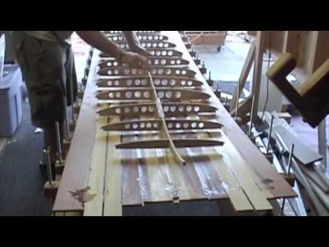 Balints Hollow Redwood Surfboard [Part 2 of 6]