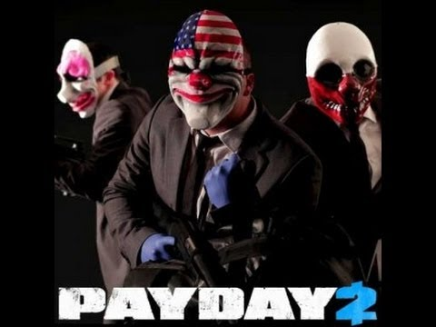 Payday2 Overkill Bank Robbery(Norwegian)