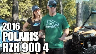 8. TEST RIDE: 2016 Polaris RZR 4 900