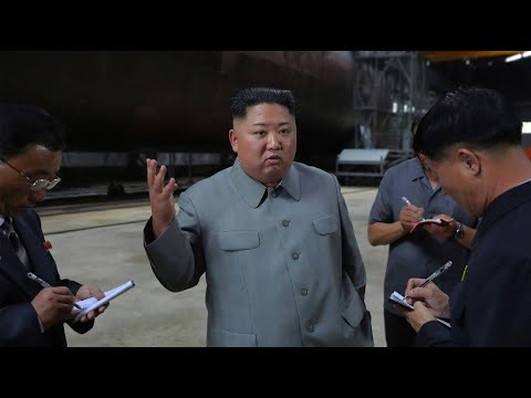 Nordkorea: Kim inspiziert neues U-Boot - Einsatz im Japanischen Meer