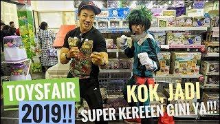 Video FLOG!!! TOYS AND COMICS FAIR 2019 INDONESIA!! GOKIL, KEREN, RACUN SEMUA, COSPLAYER2, GILAAA!!! MP3, 3GP, MP4, WEBM, AVI, FLV Maret 2019