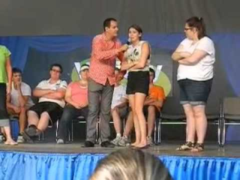 Comedy Hypnotist at The Ex 2012