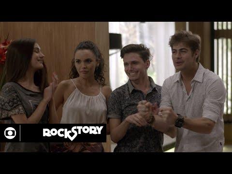 Rock Story: capítulo 175 da novela, quinta, 01 de junho, na Globo