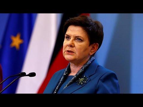 Σε τροχαίο τραυματίστηκε η Πολωνή πρωθυπουργός