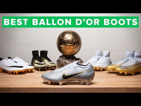 ALL THE BALLON d'Or BOOTS | Modric & Mbappé's new boots видео