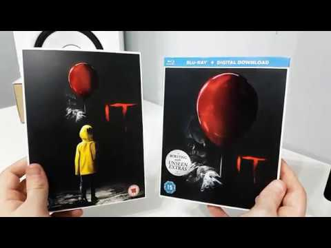 IT Movie (2017) Blu-Ray + DVD Unboxing