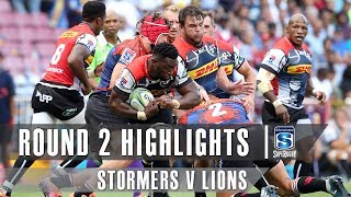 Stormers v Lions Rd.2 2019 Super rugby video highlights | Super Rugby Video Highlights