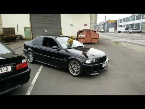 BMW E46 325Ci/330Ci Driveby Straight Pipes