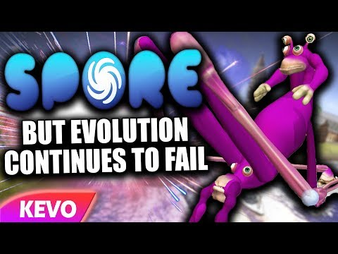 Spore but evolution continues to fail