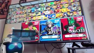 Gameplay of Smash for Wii U.