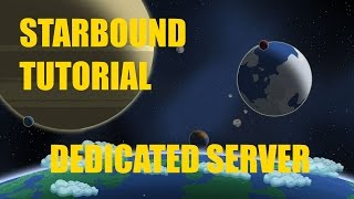 Today I'm going to show you how to make a dedicated server for Starbound 1.0 Find your public IP: http://www.whatsmyip.org/