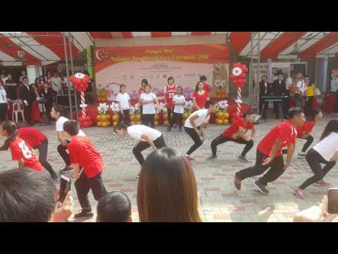 Edgefield sec sch national day dance (видео)